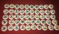 Complete Set of 50 US States Beer Bottle Caps