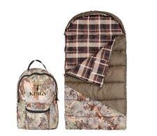 Kings Camo +25 Youth Jr Sleeping Bag Desert Shadow Hunter Camo w/ Backpack