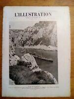 L'ILLUSTRATION 25 SEPTEMBRE 1926 - SOUS MARINS EN MEDITERANNEE
