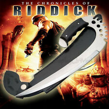 Chronicles of Riddick Saber Full Tang Claw Knife Dagger Sword w. Leather Sheath