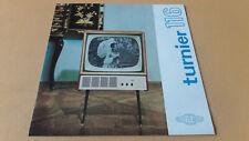 Prospekt Turnier 116, Fernsehstandgerät, RFT, 1965, VEB Rafena Werke Radeberg