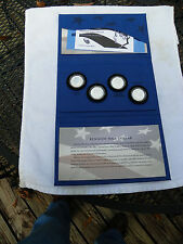 2014 50th Anniversary 4 Coin Kennedy Half Dollar Silver Coin Collection