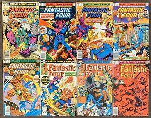 Fantastic Four #208,210,212,216,217,218,219,220 Marvel Comics 1979