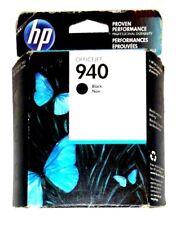 HP 940 Ink Cartridge Black Officejet 940 Genuine C4902AN New
