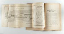 1901 Imperial Russia CITY SUBWAY METRO RAILWAY ROADS Russian Antique Book
