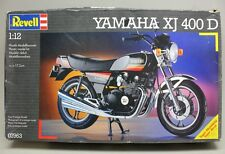 Vintage REVELL YAMAHA XJ 400 D 1:12 Scale Motorcycle Model Kit