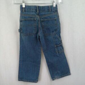 Faded Glory kids jeans size 5R carpenter pants boys girls