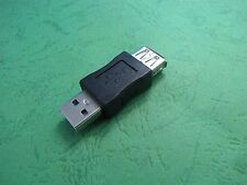 2pcs USB Female to USB 2.0 Type A Male  Adapter Converter