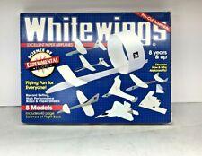 ⭐White Wings 1995 · Paper Airplane Kit for 8 Balsa Models Experimental Flilght⭐