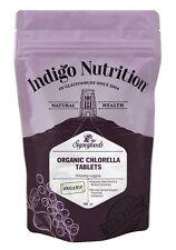 Organic Chlorella Tablets - 100 x 500mg - Indigo Herbs