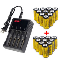 20x 3.7V Li-Ion Rechargeable Batteries Pack Kit for Netgear Arlo Security Camera
