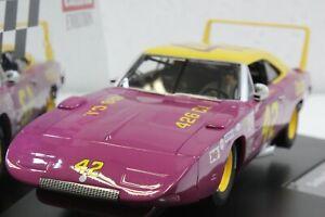 Carrera 27638 Evolution Dodge Charger Daytona, #42 1:32 Slot Car