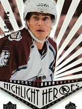 2003-04Upper Deck Hockey Hightlight Heroes insert Card #HH-TS{Teemu Selanne}