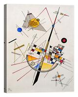 Wassily Kandinsky Delicate Tension Stampa su tela Canvas effetto dipinto