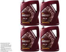 MANNOL Energy 5W-30 Teilsynthetisches Motoröl - 5L