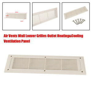 Air Vents Wall Louver Grilles Outlet Heating&Cooling Ventilation Panel 400X110MM