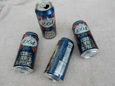 More details for breweriana collectables - set of 4 kronenbourg 1664 limited edition beer cans