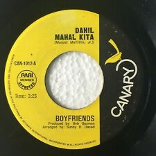 "BOYFRIENDS Dahil Mahal Kita b/w Bistado Na Kita PHILIPPINES OPM 7"" 45 RPM"