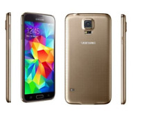 Samsung Galaxy S5 G900F 16 Go 16MP Android 4G LTE Unlocked téléphone mobile Doré