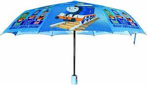 Finex Thomas The Train Pongee Fabric Auto Open/Close Umbrella Windproof Compact