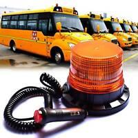 40 LED Amber Warning Strobe Light Recovery Car Flashing Magnetic Beacon Lamp