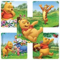 Winnie the Pooh Stickers x 5 - Party Supplies Tigger, Piglet - Birthday Favours