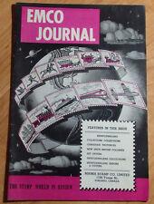 HTF EMCO JOURNAL APRIL 1953 FOR MARKS STAMP COMPANY TORONTO CANADA