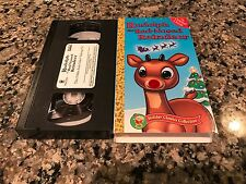 Rudolph The Red Nose Reindeer VHS! Frosty The Snow Man Hooves Of Fire