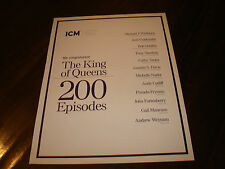 KING OF QUEENS ad for 200th episode, Leah Remini, Kevin James, Jerry Stiller