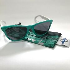 Oakley Sunglasses * Frogskins 24-417 Seafoam w/ Grey Heritage Special Edition