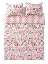 Jessica Simpson Bellisima Pink Floral 3-Piece Duvet Cover & Sham Set, Queen/Full