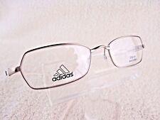 NEW Adidas A 679 6052 (Silver Gold/White) 50 X 18 135 mm  Eyeglass Eyewear