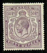 Ceylon   1912-25   Scott # 215    Mint Lightly Hinged