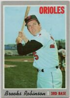 1970 Topps #230 Brooks Robinson VG-VGEX Wrinkle Baltimore Orioles FREE SHIPPING