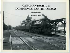 CANADIAN PACIFIC'S DOMINION ATLANTIC RAILWAY Vol 1 British Railway Modellers NA