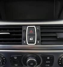 E64 Chrom Rahmen für Dreheinheit Menü Edelstahl poliert D BMW E63