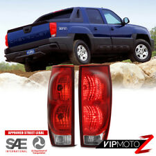 2002-2006 Chevrolet Avalanche LEFT+RIGHT Factory Style Complete Rear Tail Lights