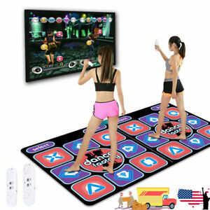Double Person Non-Slip Dancing Dance Step Mat Pad For PC TV Video Household Game