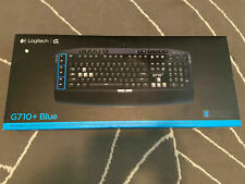 Logitech G710+ Blue Mechanical Gaming Keyboard MX Blue 920-006519 Tactile Click