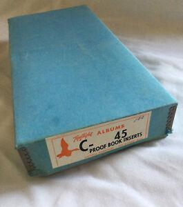 "Photo Album Inserts Universal Bookbindery, NOS Vintage Wedding 100 Count 4""x5"""