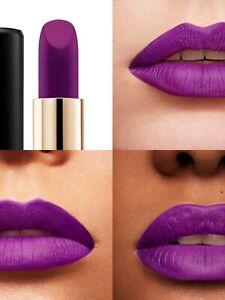 Lancome L'Absolu Rouge Drama Matte Purple Fascination 509 NIB Full Size 0.12 oz.