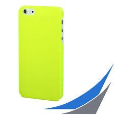 [ für iPhone 5/5S/SE ]  Slim Case - Lime frosted  + 1x Displayfolie