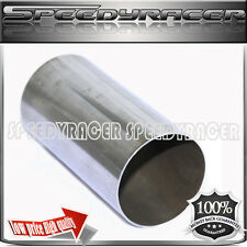 """3.5"""" x 7"""" 3 1/2 x 7 SS Exhaust Straight Extention Pipe Tube Tip Header Downpipe"""