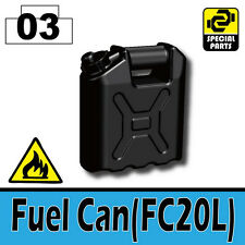 Fuel Can (W79) Army Equipment compatible with toy brick minifigures