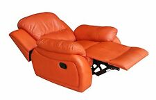 Leder Fernsehsessel Relaxsessel Fernseh-Sessel Schlaffunktion 5129-1-477