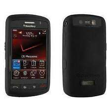 AMZER SOFT SKIN RUBBER SILICONE CASE COVER FOR BLACKBERRY STORM 9530 - BLACK