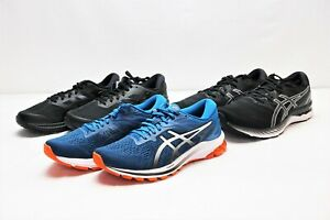 Lot of 3 Assorted New Men's Asics Athletic Shoes in Various Sizes -BBR1563