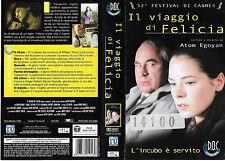 IL VIAGGIO DI FELICIA (1999) vhs ex noleggio