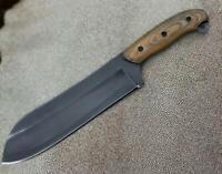 "HANDMADE 15"" HUNTING-SKINNING-BEAUTIFUL BIG Machetes JUNGLE ACID WASH  KNIFE"