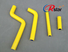 Silicone Radiator Hose FOR YAMAHA YZ125 YZ 125 1996-2001 97 98 99 00 01 YELLOW